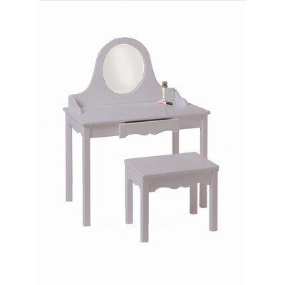 Little Colorado Vanity and Bench Set, Lavender