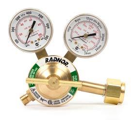 Radnor Model SR250C-540 Radnor Classic Style Medium Duty Oxygen Single Stage Regulator CGA-540
