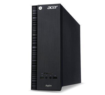 Acer Aspire XC Compact Desktop Computer Intel Quad Core CPU 2.00 GHz, 4GB DDR3, 500GB HDD, DVDRW, HDMI, USB 3.0, Windows 8.1 64-Bit) (Certified Refurbished)