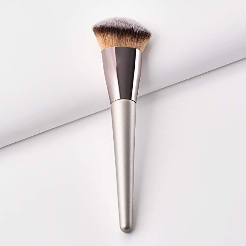 BBL Angled Makeup Brush Synthetic Contour Face Kabuki Foundation Brush for Blending Liquid Powder BB Cream Buffing Bronzer cosmetics tools applicator