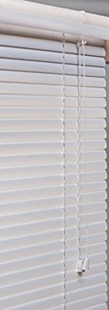 Lotus & Windoware 1-Inch PVC Mini Blind, 10 by 72-Inch SAN FIT ML1072WH