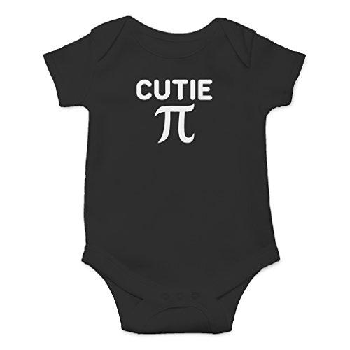 AW Fashions Cutie Pie - Math Parody Novelty Funny Infant One-Piece Baby Bodysuit