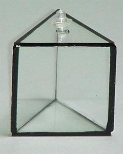 SEOH Hollow Acrylic Equilateral Prism for Light Refraction
