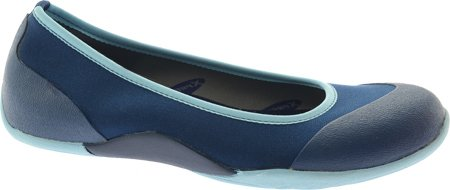 MuckBoots Womens Breezy Ballet Slip-On Estate/Sky Blue VewjD