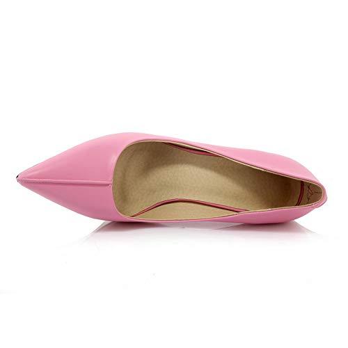 5 Femme EU Rose Rose APL11136 Sandales Compensées 36 BalaMasa 0tCUwqO