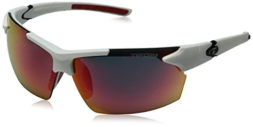 (Tifosi Jet Wrap Sunglasses, Matte White, 139)