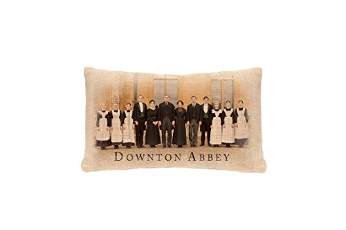 Heritage Lace Downton Abbey Downton Cast Pillow Cover, 12 by