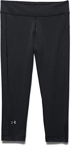 Under Armour Women's HeatGear Armour Capri, Black (001), Medium (Yoga Pants Under Armour)