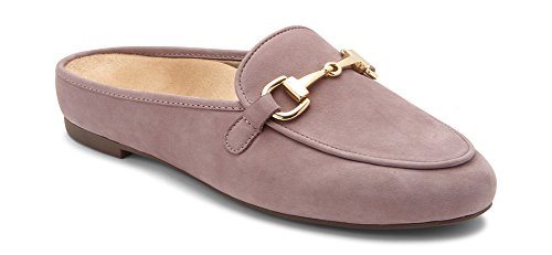Vionic Women's Snug Adeline Mule - Ladies Slide with Concealed Orthotic Arch Support Dusk 9.5 M US