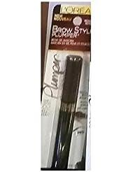 Lor Brow Plmp 380 Linr Me Size .27z L'Oreal Brow Stylist Plumper Eyebrow Liner 375 Medium To Dark .27 Fl Oz.