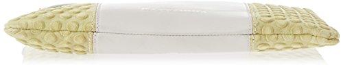 Gattabuia Valeria Borsa A Mano Donna 29x22x2 5 Cm w X H L Multicolore perla Pistacchio