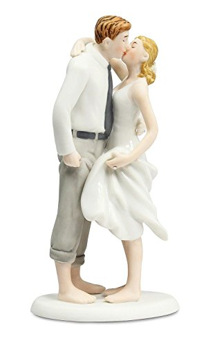 Wedding Collectibles Beach Get Away Wedding Cake Topper (Casual Wedding Cake Topper)