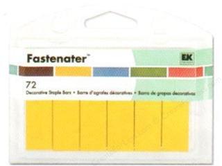 EK Success Fastenater 72 Decorative Staple Bars (Ek Success Decorative Staple Bars)