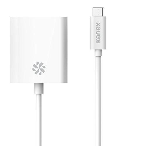 Kanex USB-C to DVI Adapter 8.25 Inches (21 cm)-White -