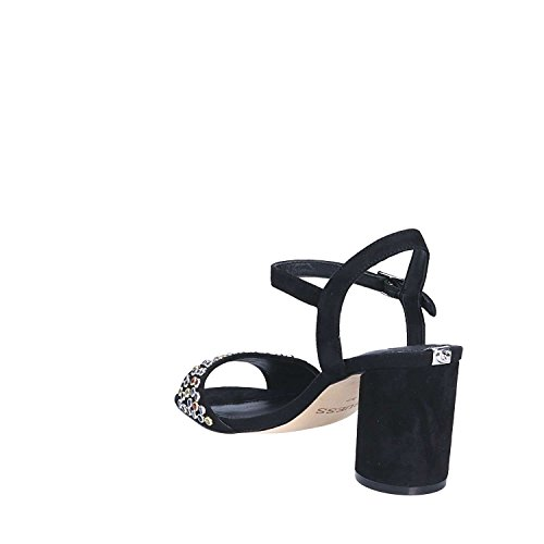 Fllor1 Mujeres Altos Negro Sue03 Sandalias Guess dx8aqd
