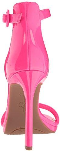 Jessica Simpson Vrouwen Plemy Hakken Sandaal Fluorescerend Roze