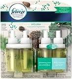 6 Pk. Febreze NOTICEables Air Freshener Refills - Jolly Pine - 26 ml - 2 ct (12 total)