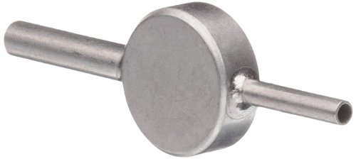 Stainless Steel Hypodermic Tubing Reducer, Inlet - 6 Gauge, Outlet - 9 Gauge (Pack of 5)
