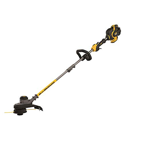 DEWALT DCST970X1 FLEXVOLT 60V MAX Lithium-Ion Brushless 15' String Trimmer, Two Speed...