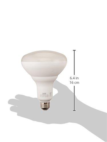 "FEIT Electric BR40DM/850/10KLED/2 Dimmable Led Bulb, 65 W, 120 Vac, 850 Lumens, 5000 K, CRI >80, 6.3""H x 5""D"
