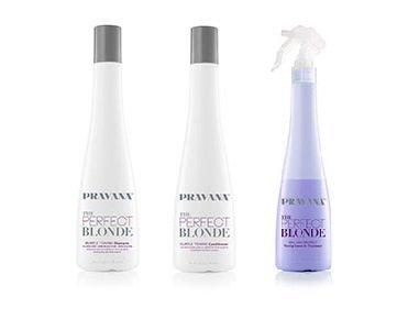 PRAVANA THE PERFECT BLONDE Purple Toning Combo
