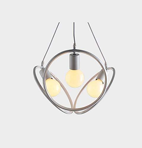ChuanHan Led Chandelier/Pendant Lamp, 3-Light Globe/Novelty Chandelier Downlight - Mini Style, Cute, Adjustable, 110-120V / 220-240V Bulb Not Included, White