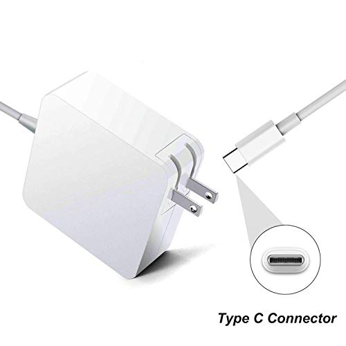 87W USB C Power Adapter for MacBook Pro 12 13 15 inch 2019 2018 2017 2016 61W 29W Watt Thunderbolt Ports Laptop AC Charger Power Supply Cord with 7.5ft Extra Long Type C Cable (Macbook Pro Laptop Power Cord)