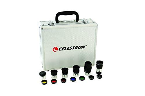 Celestron Eyepiece & Filter Kit – 14 Piece Telescope Accessory Set