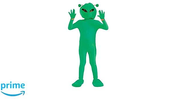 Fun Shack Verde Extraterrestre Disfraz para Niños y Niñas - XL ...