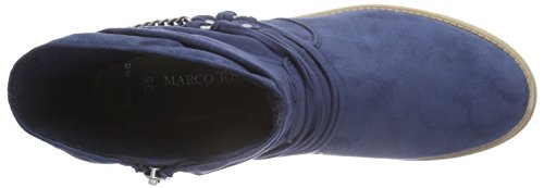 Marco Tozzi 25305 - Botas Mujer Azul - Blau (OCEAN 803)