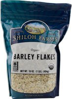 Barley Flakes (Shiloh Farms - Organic Barley Flakes - 16 oz.)