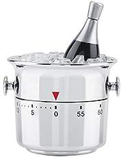 Mechanical Time Reminder Kitchen Timer Bucket Shaped Kitchen Timer for Salons