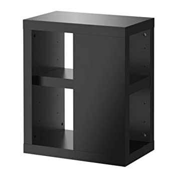 Ikea Ullrik Pied De Table Avec Rangement Noir 35x70 Cm Amazon