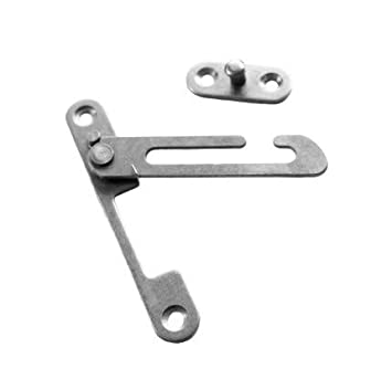 Commercial Hardware Upvc Window Restrictor Hook With Child Lock