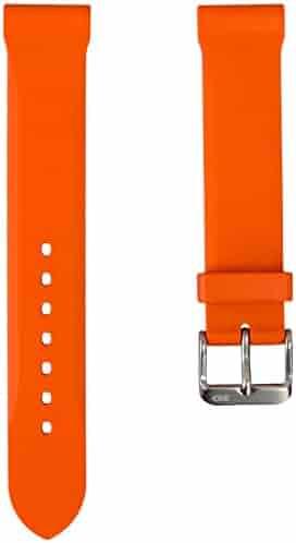 a0621e1a938 ZULUDIVER 306 Orange Genuine Italian Rubber Dive Watch Band by Bonetto  Cinturini 20mm