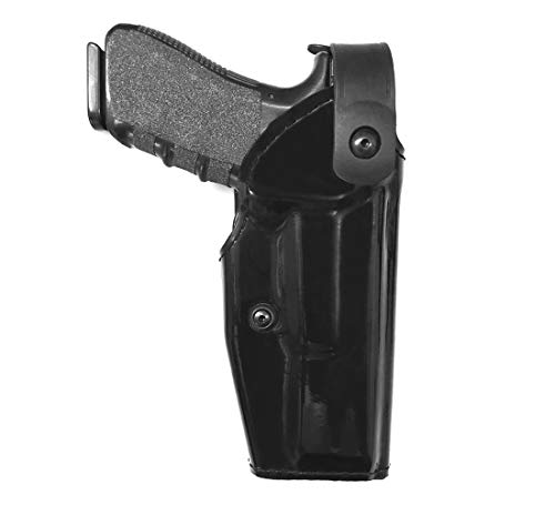 U.S. DUTY GEAR US-10 Level 2 High Gloss Duty Holster for Glock 17, 22 (Right Hand)