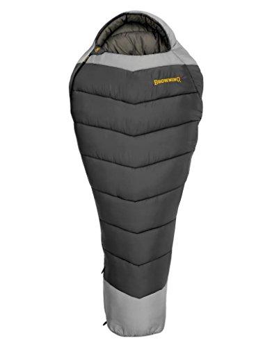 Browning Mummy Sleeping Bag (Browning Camping Denali -30 Degree Mummy Sleeping Bag, Grey)