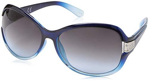 Southpole Women's 1028sp Nvtq Non-Polarized Iridium Round Sunglasses, Navy Turquose, 70 mm]()