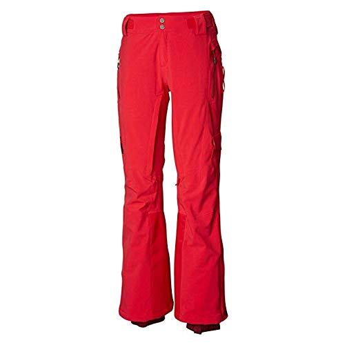 Columbia Powder Keg II Womens Ski Pants - Medium/Red -