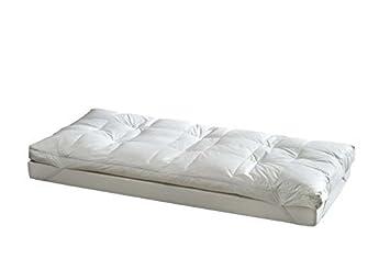 Befa Daunen Matratzenauflage 160x200cm 2 Lagig Duvet Surmatelas