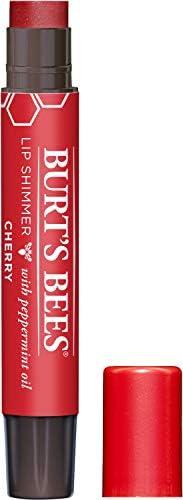 Burt's Bees 100% Natural Lip Shimmer, Cherry, 1 C