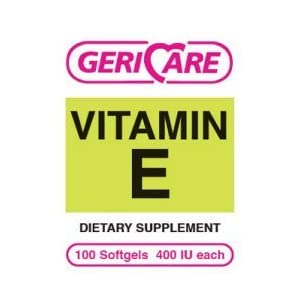 1146606 PT# 57896075201 Di-Alpha Vitamin E Softgels 400IU 100/Bt Made by…