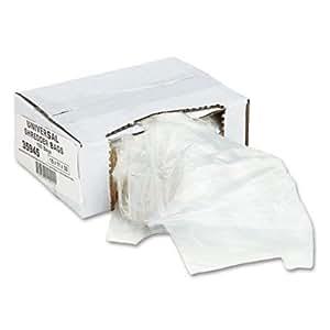 Universal 35945 - High-Density Shredder Bags, 15w x 11d x 30h, 100 Bags/Carton, Clear