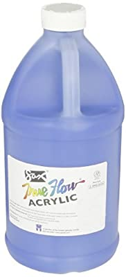 Sax True Flow Heavy Bodied Acrylic Paint - 1/2 Gallon - Phthalo Blue