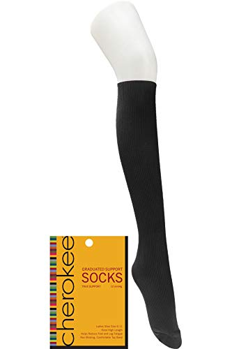 (Cherokee YTSSOCK1 Women's Support Sock - Pewter)