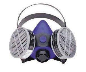 Honeywell Medium Blue Silicone Half Mask 2000 S Series Respirator ()