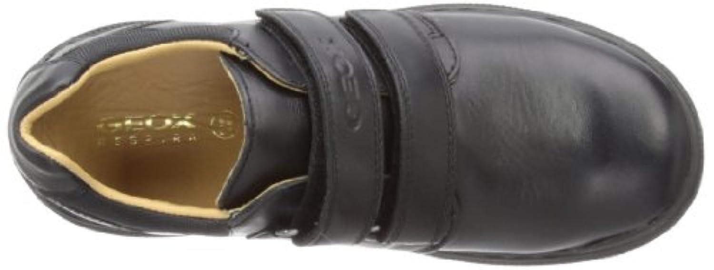 Geox William A, Boys' Loafers, Black, 1 UK (33 EU)