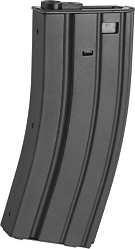 Evike APS 300rd Full Metal Hi-Capacity Magazine for M4 / M16 / UAR Series Airsoft AEG Rifles (Color: Black) ()