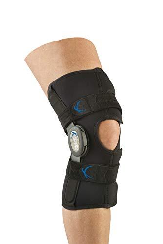 United Ortho 300290-08 Short Neoprene Wraparound Hinged Knee Brace, X Large