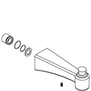 kohler archer faucet nickel - 4
